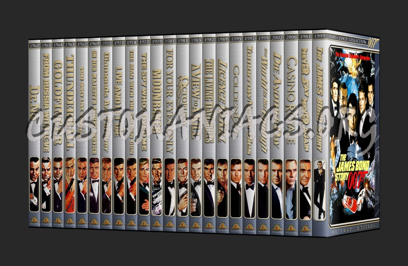 007 - James Bond Ultimate Collection dvd cover