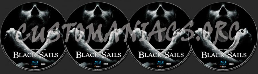 Black Sails Season 1 blu-ray label