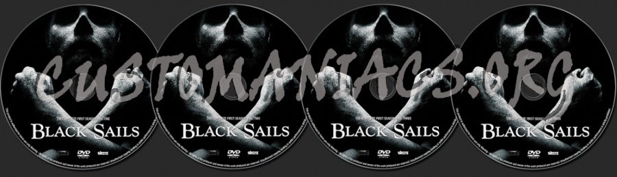 Black Sails Season 1 dvd label