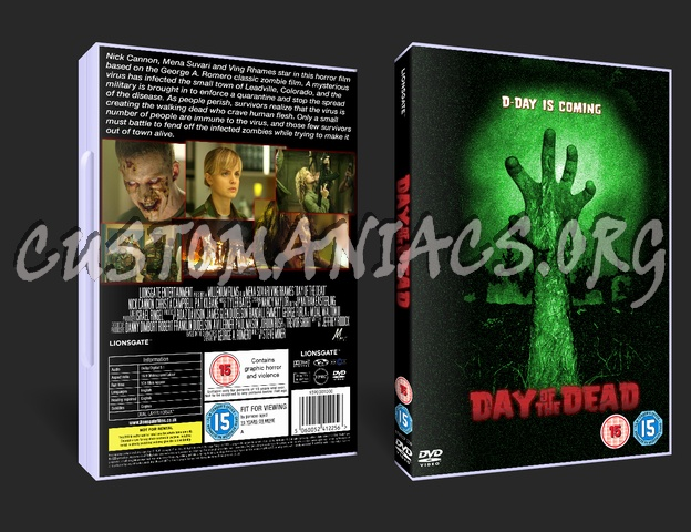 Day Of The Dead dvd cover