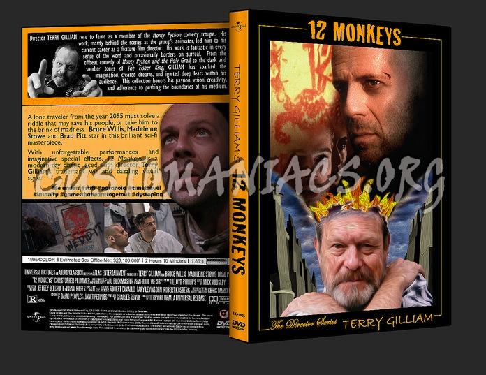 12 Monkeys dvd cover