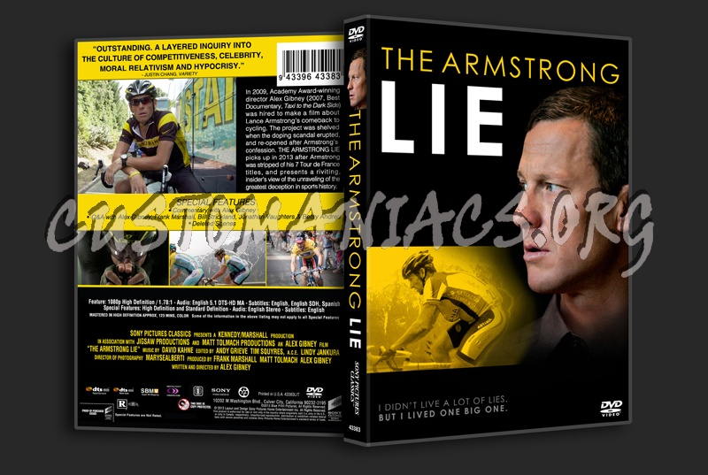 The Armstrong Lie dvd cover