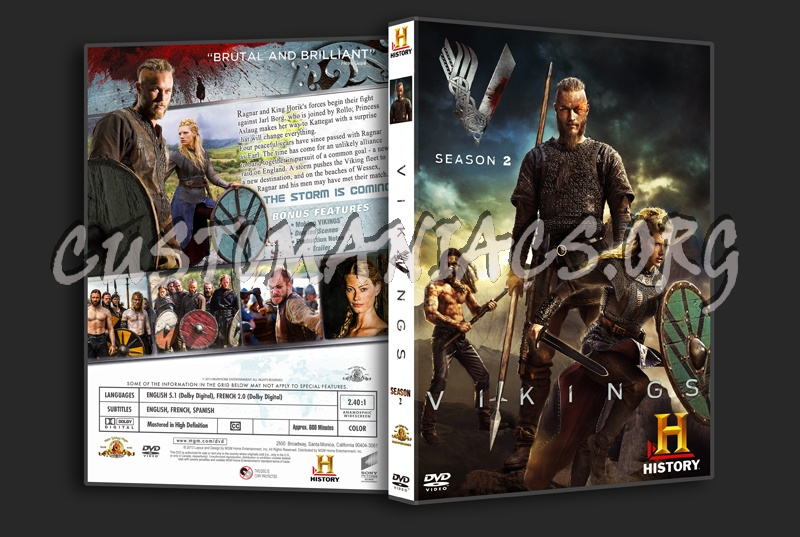 Vikings s2 dvd cover