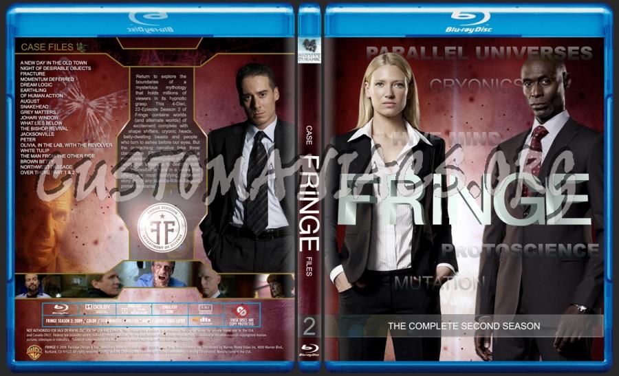 Fringe Season 2 blu-ray cover