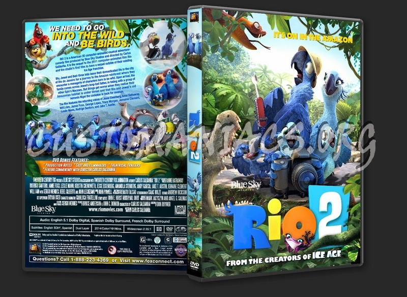 Rio 2 2014 Dvd Cover Dvd Covers Labels By Customaniacs Id 207926 Free Download Highres Dvd Cover