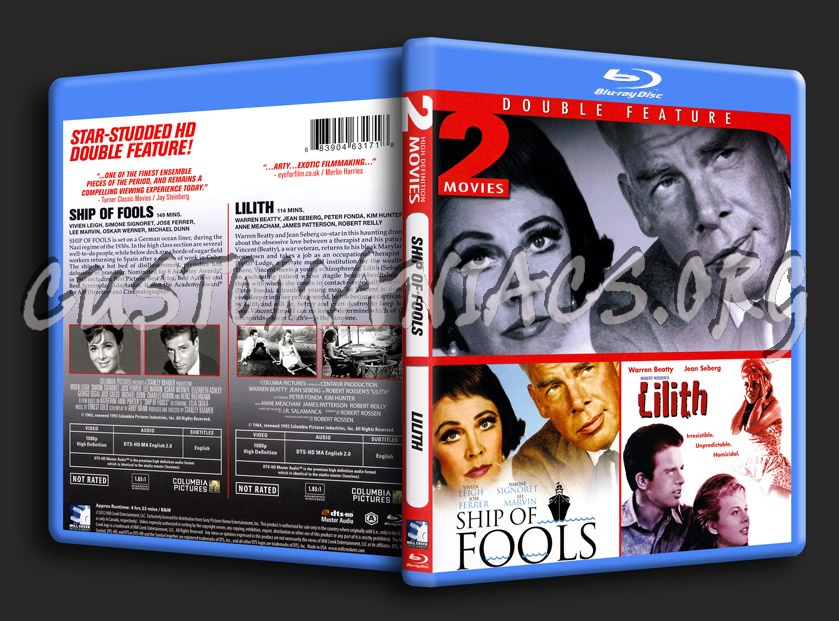Ship Of Fools / Lilith blu-ray cover