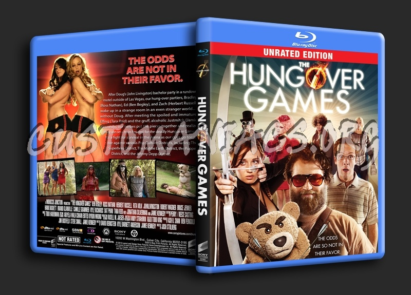 The Hungover Games blu-ray cover