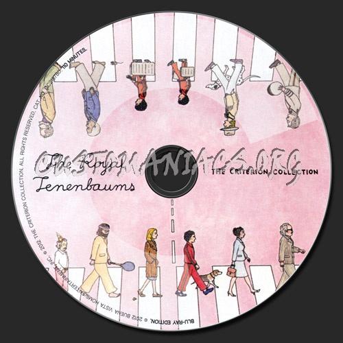 157 - The Royal Tenenbaums dvd label