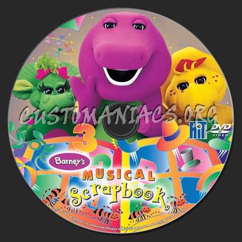Barneys Musical Scrapbook Dvd Label Dvd Covers Labels By