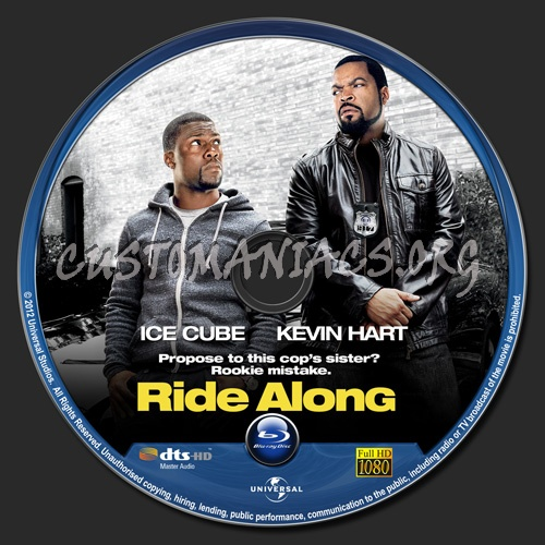 Ride Along blu-ray label