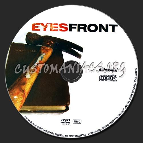Eyes Front dvd label