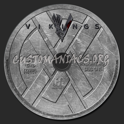 Vikings - Season 2 dvd label