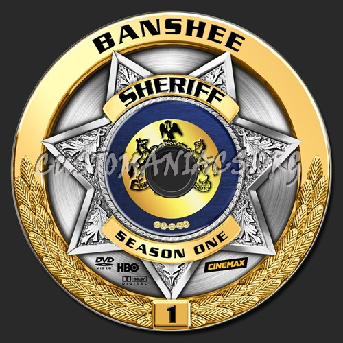 Banshee - Season 01 dvd label