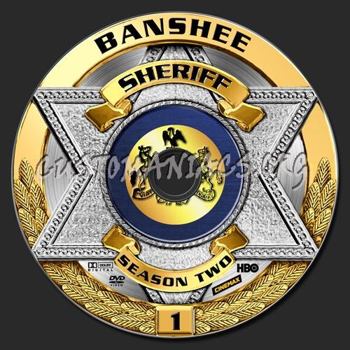 Banshee - Season 02 dvd label