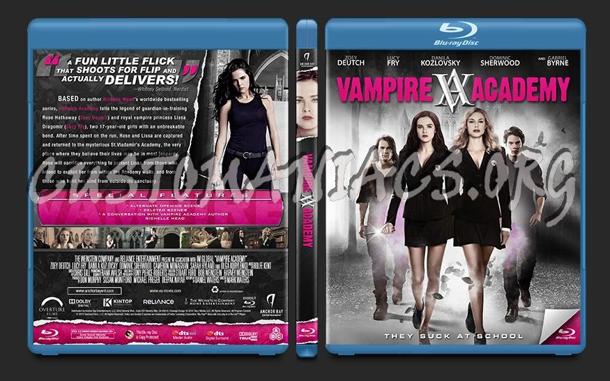 Vampire Academy blu-ray cover