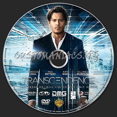 Transcendence dvd label