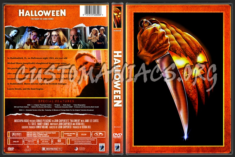 HALLOWEEN - The Franchise Collection dvd cover