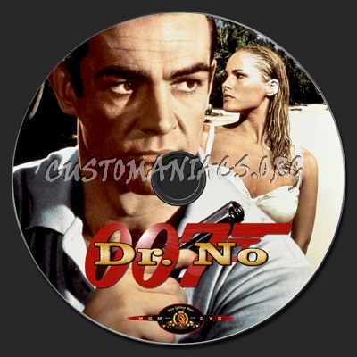 Dr. No dvd label