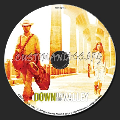 Down in the valley dvd label