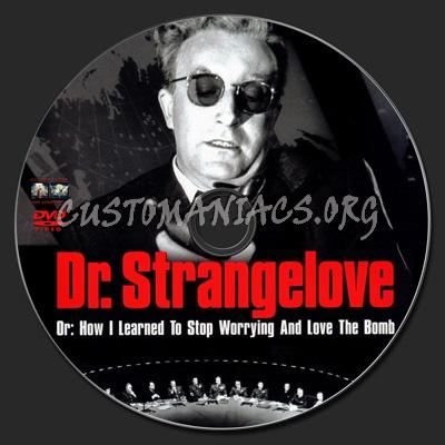 Dr. Stangelove dvd label
