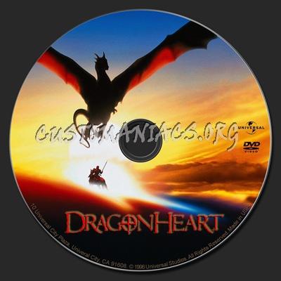 Dragonheart dvd label