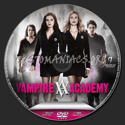 Vampire Academy Dvd Cover Vampire Academy dvd la...