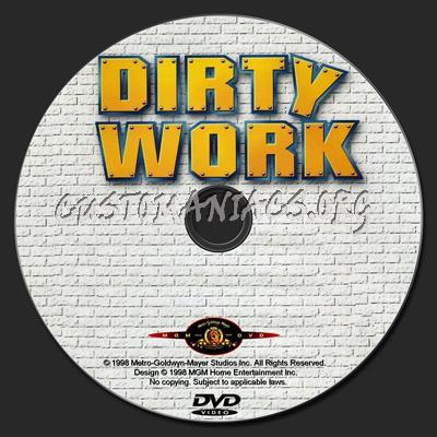 Dirty Work dvd label
