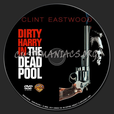The Dead Pool dvd label