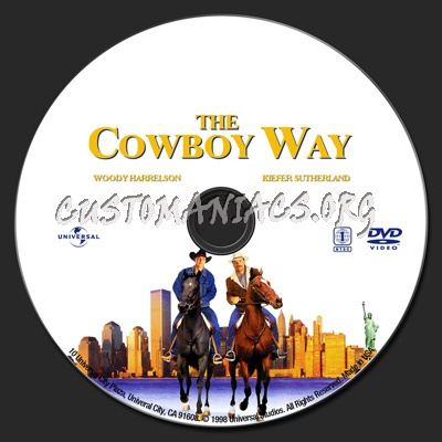 The Cowboy Way dvd label