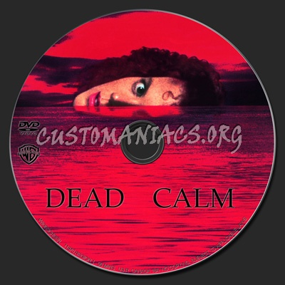 Dead Calm dvd label