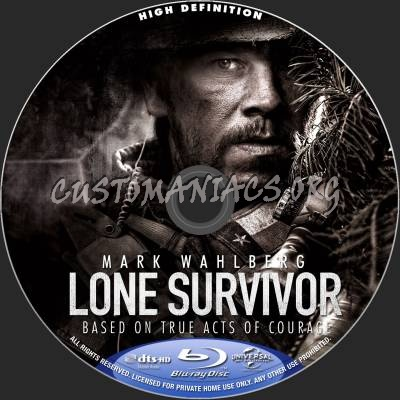 Lone Survivor blu-ray label - DVD Covers & Labels by ...