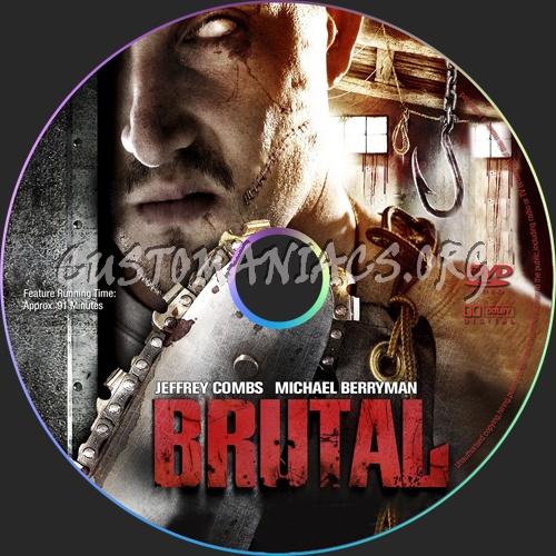 Brutal dvd label