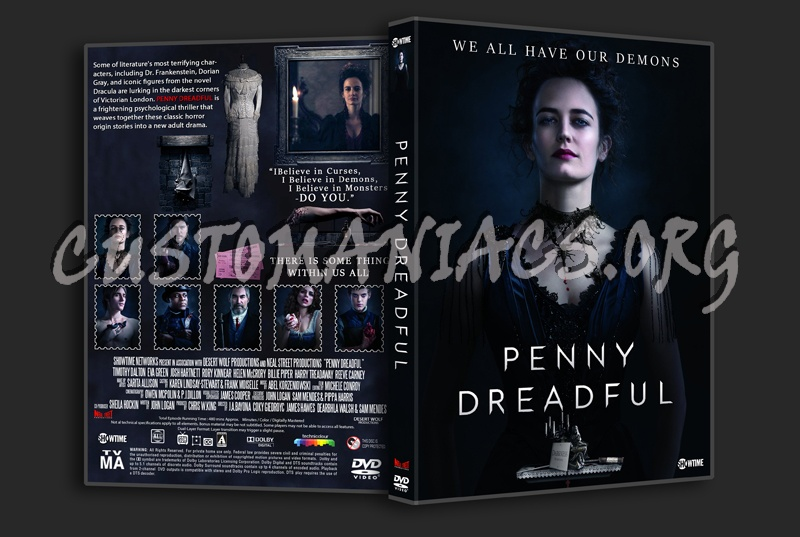 Penny Dreadful Season 1 dvd cover