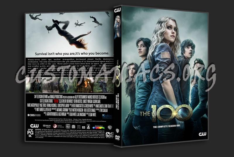 The 100 Season 1 dvd cover