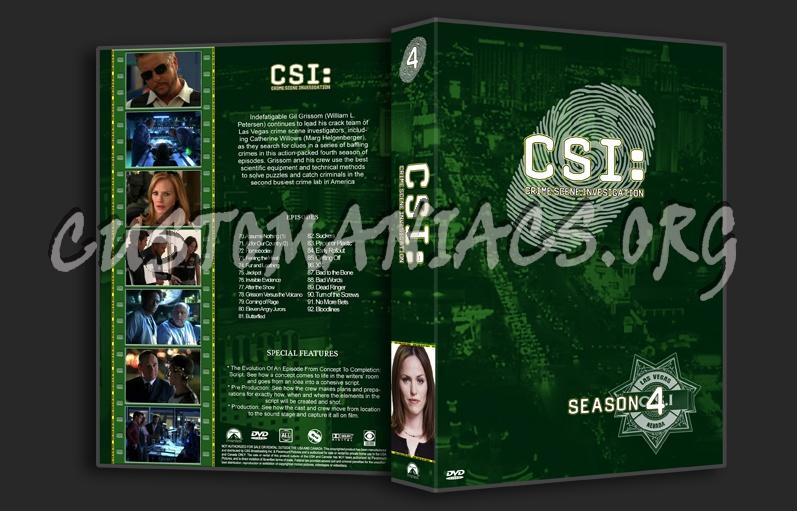 CSI Las Vegas dvd cover