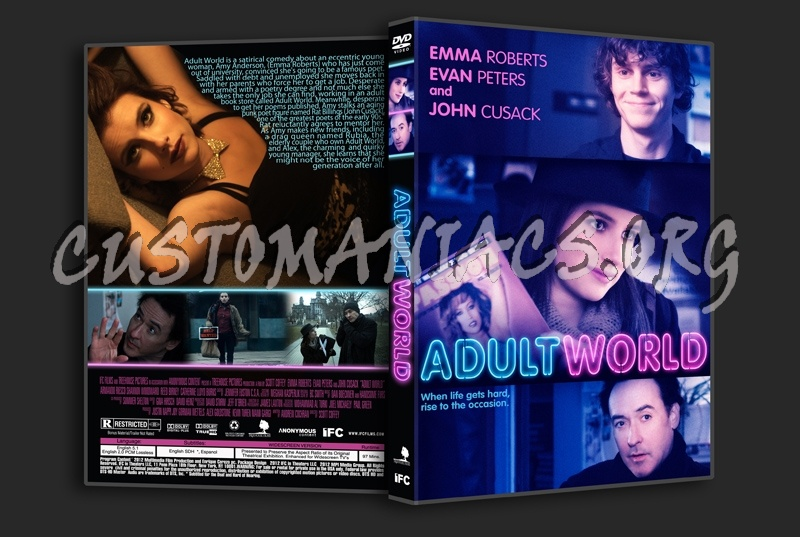 Adult World dvd cover