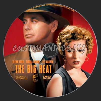 The Big Heat dvd label