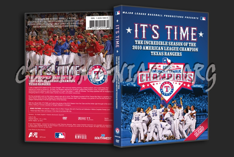 It's Time dvd cover