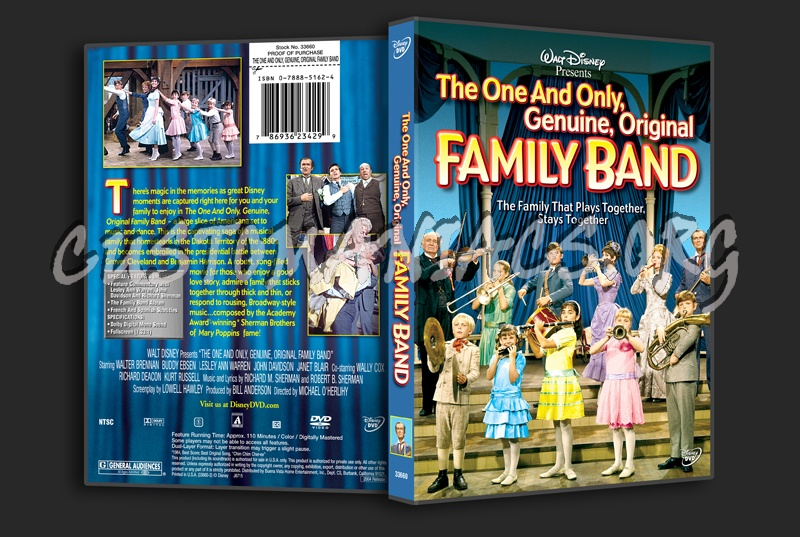 The One and Only Genuine, Original Family Band dvd cover