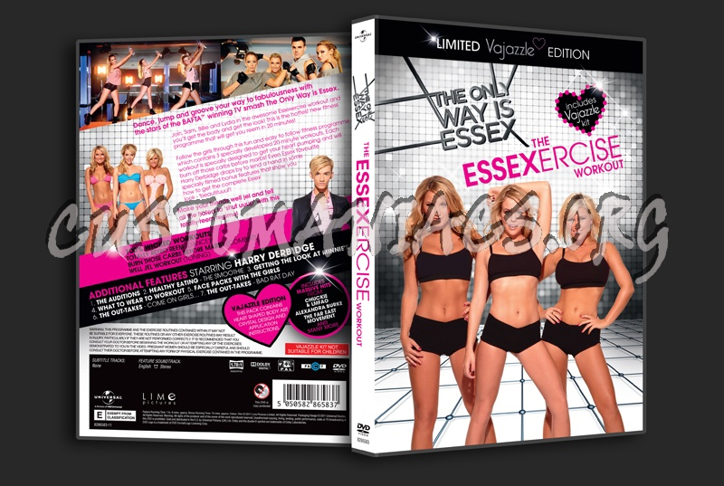 The Only Way is Essex The Essexercise Workout dvd cover