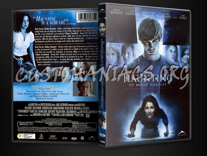 Haunting of Molly Hartley dvd cover