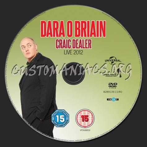 Dara O Briain Craic Dealer dvd label