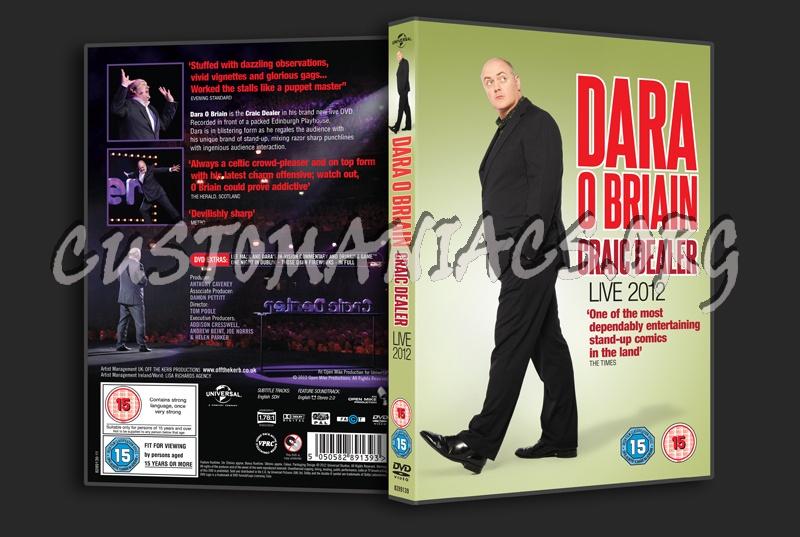 Dara O Briain Craic Dealer dvd cover