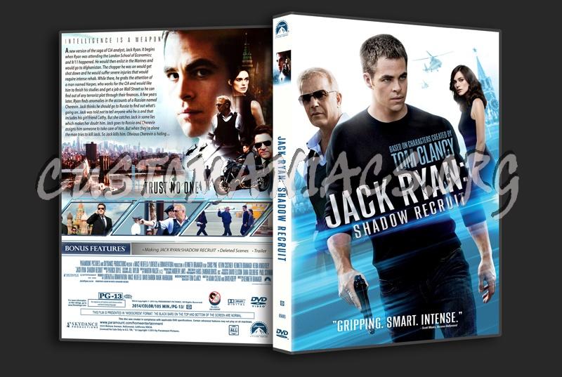 Jack Ryan:Shadow Recruit dvd cover