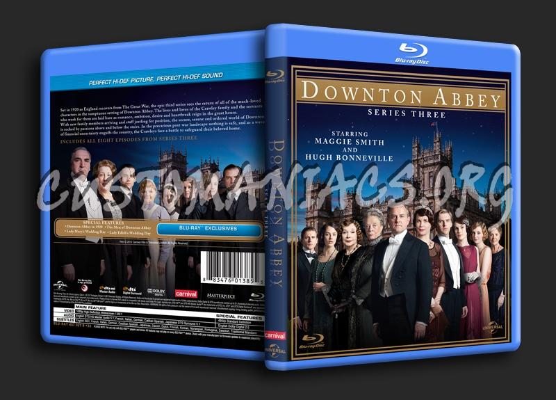 Downton Abbey Season 3 blu-ray cover
