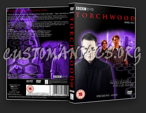 Torchwood Series 2 Episode 5: Adam dvd cover