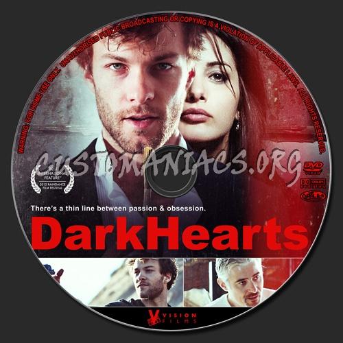 Dark Hearts dvd label