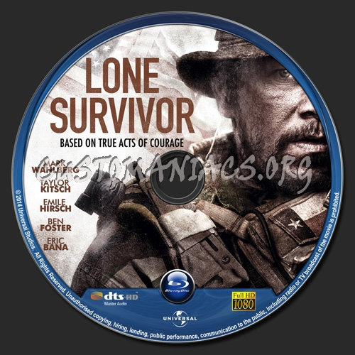 Lone Survivor blu-ray label - DVD Covers & Labels by