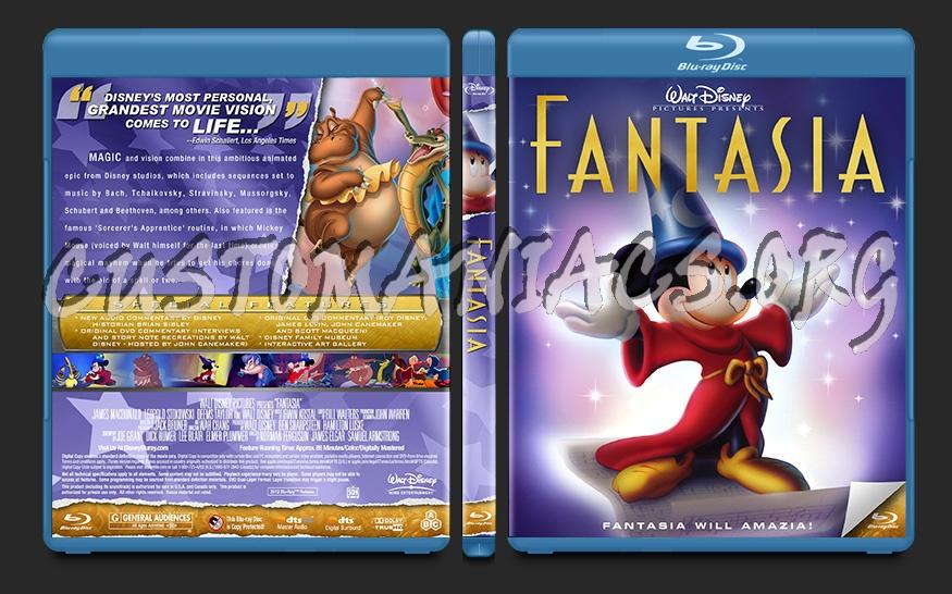 Fantasia blu-ray cover