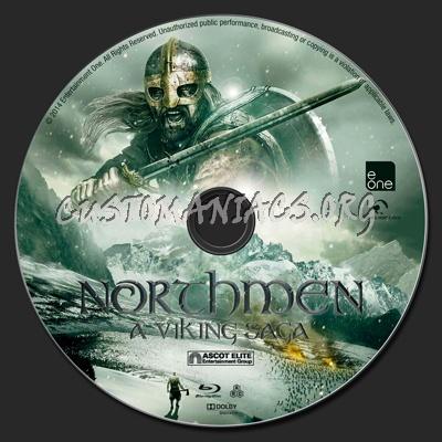 Northmen: A Viking Saga blu-ray label